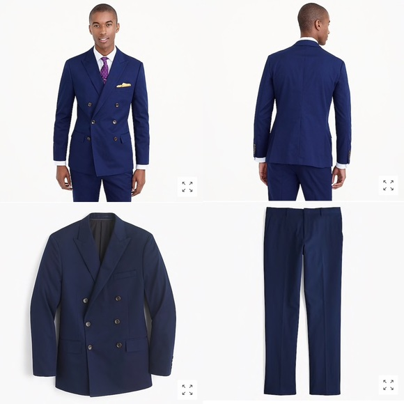 J. Crew Other - J.Crew Ludlow Double Breasted Italian Chino Suit